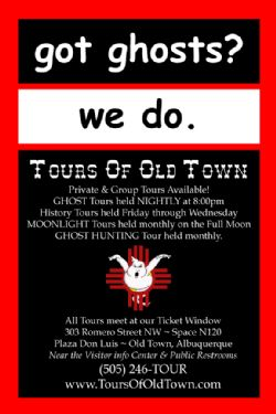 Ghost Tour of Old Town Albuquerque - Admission