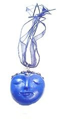 29A Blue clay necklace!!!!!