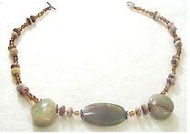 19A. Jade and Jasper Samera necklace. Jewelry!!!